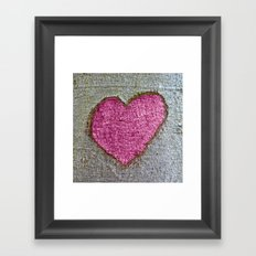 I LOVE YOU / XI Framed Art Print