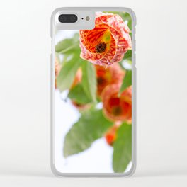 Floral 20 Clear iPhone Case