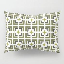TRELLIS, OLIVE Pillow Sham