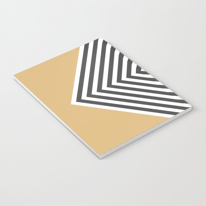 Gold Chevron Notebook