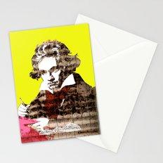Ludwig van Beethoven 3 Stationery Cards