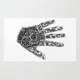 Hand of Machines Rug