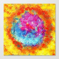 Plasmic Earth Number Two Canvas Print