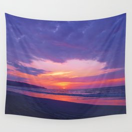 Broken sunset by #Bizzartino Wall Tapestry