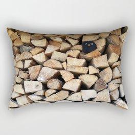 surprise guest Rectangular Pillow