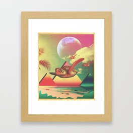 From the Sea to the Sky  Framed Art Print