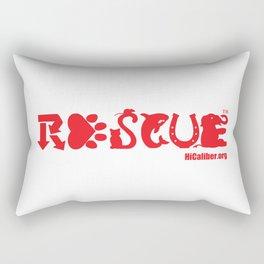Rescue Red Rectangular Pillow