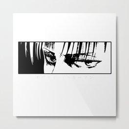Attack on Titan Levi Ackerman Metal Print