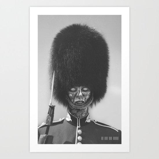 Not A Guard Anymore Art Print