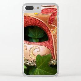See Me As I Was, Not As I Am Clear iPhone Case
