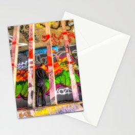 Leake Street Graffiti Artist  Stationery Cards