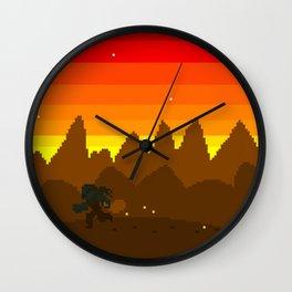 Fakronia- Post Heist Wall Clock