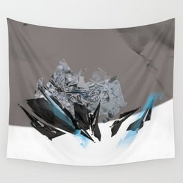 Blue Symbiote Wall Tapestry