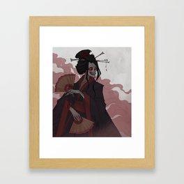 Drawlloween Yokai Framed Art Print