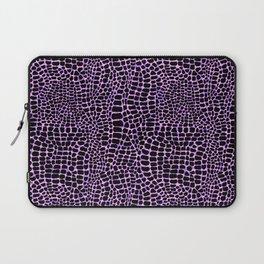 Neon crocodile/alligator skin Laptop Sleeve