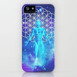 Sacred Geometry (Illumination) iPhone Case