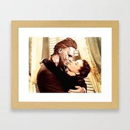 Michael Myers as Clark Gable Framed Art Print