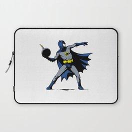 Bat Throwing Bomb Laptop Sleeve