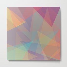 Color cones Metal Print