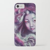 korea iPhone & iPod Cases featuring South Korea by Holly Carton