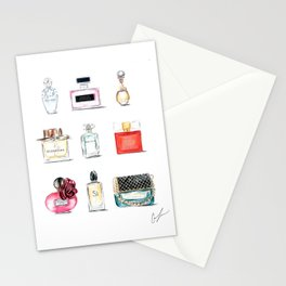 Perfumes Stationery Cards