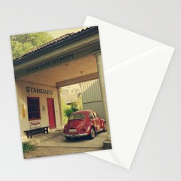 Old gas station in Norway - Fine Arts Travel Photography Stationery Cards