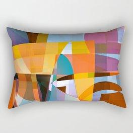 series of actions 2a Rectangular Pillow