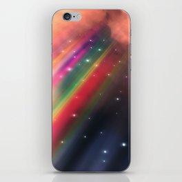 Under The Rainbow Sky iPhone Skin