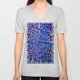 Neon Prisms Unisex V-Neck