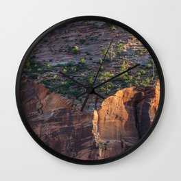 End of Days (Zion National Park, Utah) Wall Clock