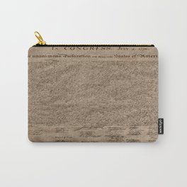 Declaration Carry-All Pouch