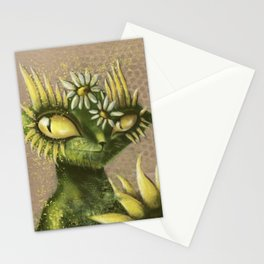 Sun Flower Cat Stationery Cards