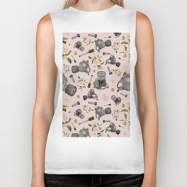 Don't stop to smell the roses Biker Tank