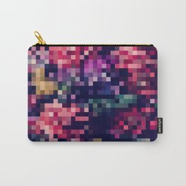Pixel Universe Pttern Carry-All Pouch
