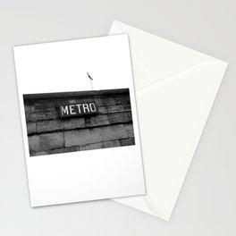 Paris Metro Stationery Cards