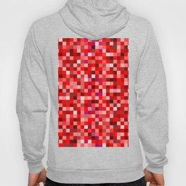 Red Pixel Hoody