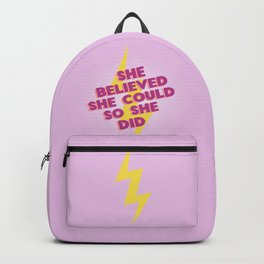 she believed she could Backpack