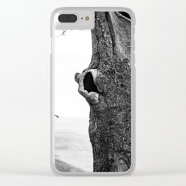 UP HERE Clear iPhone Case