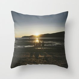 Bic Sunset Throw Pillow