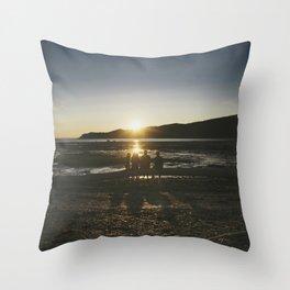 Bic Sunset Throw Pillow