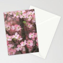 Pink Dogwoods Stationery Cards