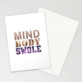 Mind, Body, & Swole Stationery Cards