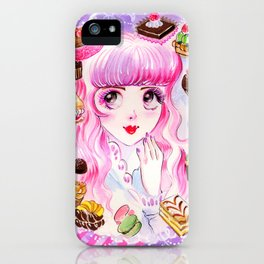 Dreaming of Sweets iPhone Case