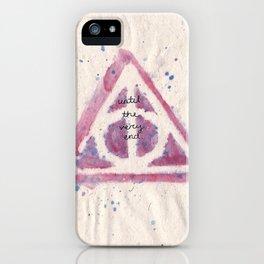 deathy hallows iPhone Case