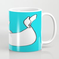 seal Mugs featuring Surprised Seal by J&C Creations