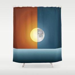 Sun & Moon Shower Curtain