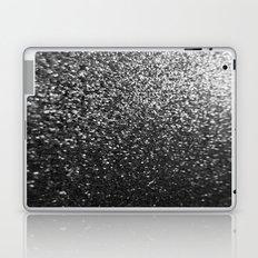 Silver Sparkle Glitter Laptop & iPad Skin