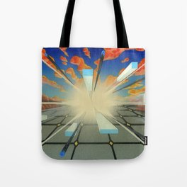 Projected Perspective Tote Bag