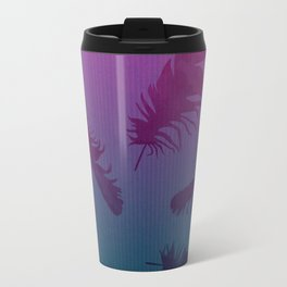 Falling Feathers Travel Mug