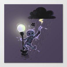 Singin'in the rain Canvas Print